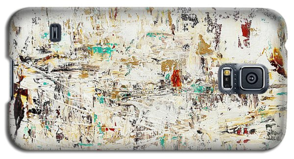 Galaxy S5 Case featuring the painting Quest by Carmen Guedez