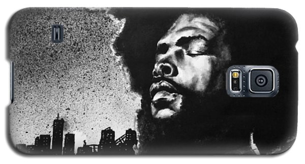 Galaxy S5 Case featuring the painting Questlove. by Darryl Matthews
