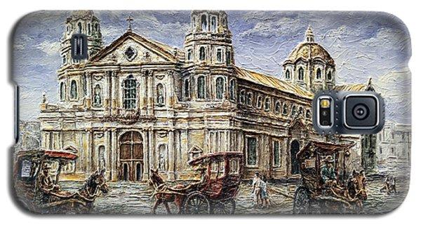 Quiapo Church 1900s Galaxy S5 Case by Joey Agbayani