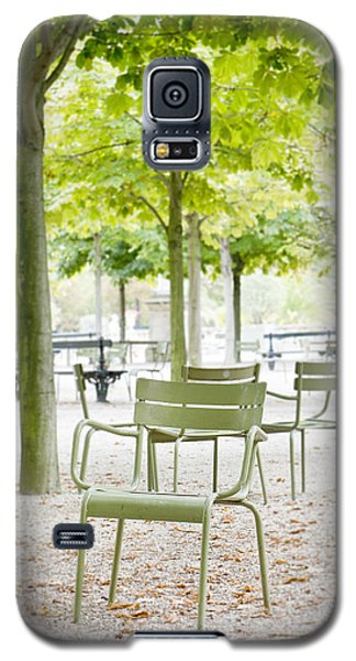 Quiet Moment At Jardin Luxembourg Galaxy S5 Case