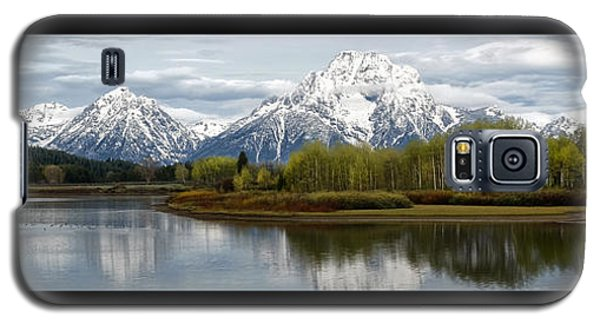 Quiet Morning At Oxbow Bend Galaxy S5 Case