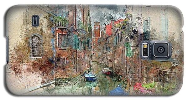 Quiet Morning In Venice Galaxy S5 Case