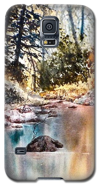 Quiet Reflections Galaxy S5 Case by Carolyn Rosenberger