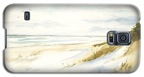 Galaxy S5 Case featuring the painting Quiet Season by Sandra Strohschein