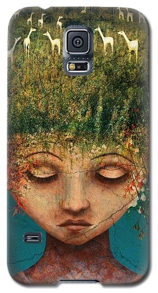 Surrealism Galaxy S5 Case - Quietly Wild by Catherine Swenson