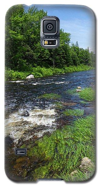 Quill Pond Brook Near Rangeley Maine  -70748 Galaxy S5 Case