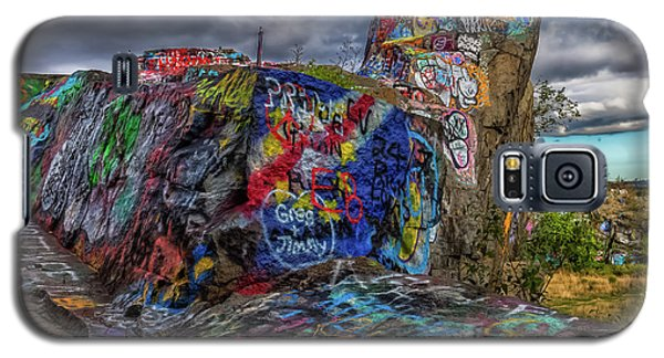 Quincy Quarries Graffiti Galaxy S5 Case