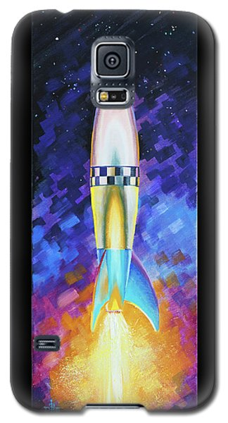 Quintesential Rocketship Galaxy S5 Case