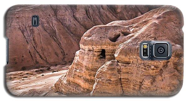 Qumran Cave 4, Israel Galaxy S5 Case