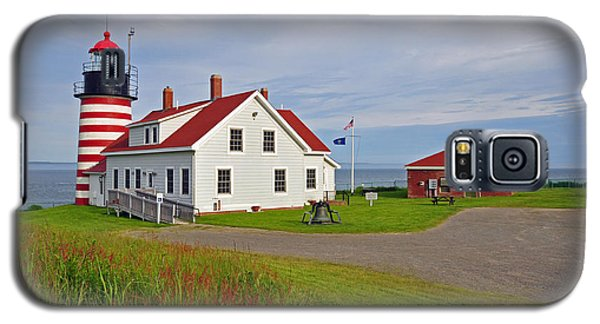 Quoddy Head Lighthouse Galaxy S5 Case