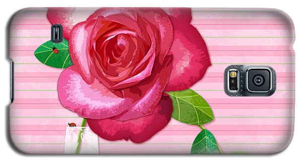R Is For Rose Galaxy S5 Case