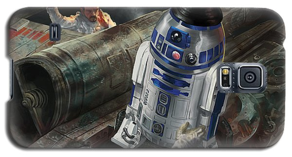R2-d2 Galaxy S5 Case - R2-d2 by Ryan Barger