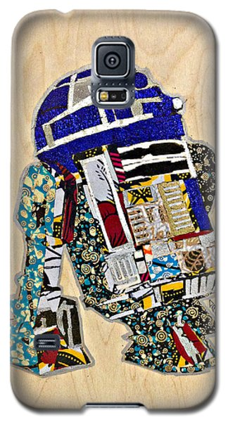 Galaxy S5 Case featuring the tapestry - textile R2-d2 Star Wars Afrofuturist Collection by Apanaki Temitayo M