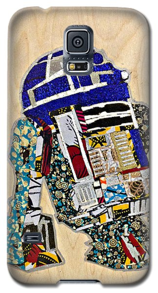 R2-d2 Star Wars Afrofuturist Collection Galaxy S5 Case by Apanaki Temitayo M