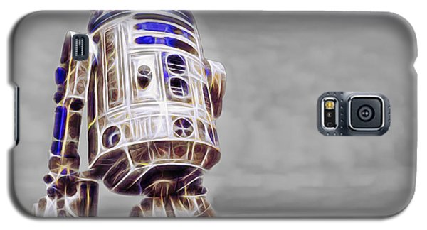 R2-d2 Galaxy S5 Case - R2 Feeling Good by Scott Campbell