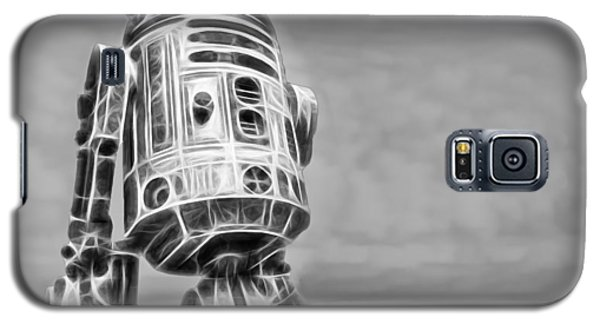 R2-d2 Galaxy S5 Case - R2 Feeling Lonely by Scott Campbell