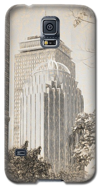 R2d2 Building And The Prudential Center Galaxy S5 Case