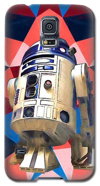 R2-d2 Galaxy S5 Case - R2d2 by Dan Sproul