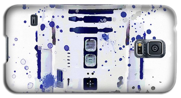 R2-d2 Galaxy S5 Case - R2d2 Watercolor by Dan Sproul