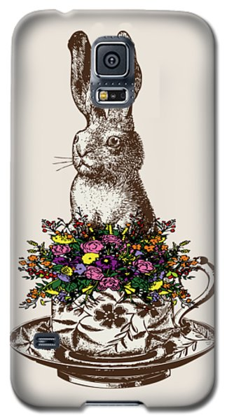 Rabbit In A Teacup Galaxy S5 Case by Eclectic at HeART