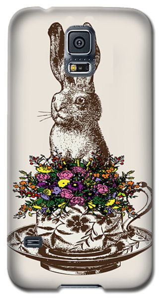 Rabbit In A Teacup Galaxy S5 Case