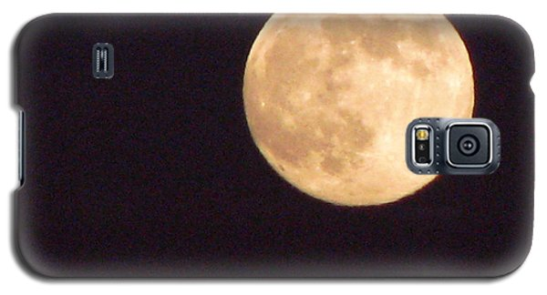 Galaxy S5 Case featuring the photograph Rabbit In The Moon by Phyllis Kaltenbach