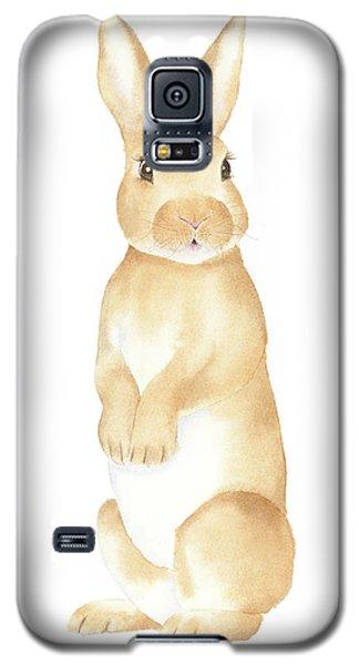 Rabbit Watercolor Galaxy S5 Case by Taylan Apukovska