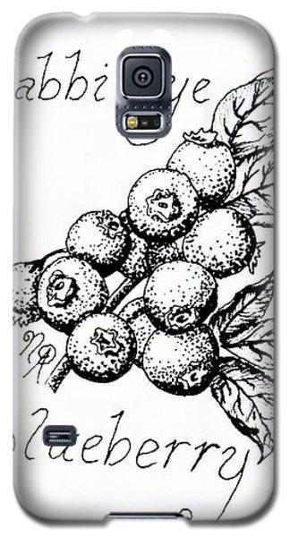Rabbiteye Blueberry Galaxy S5 Case