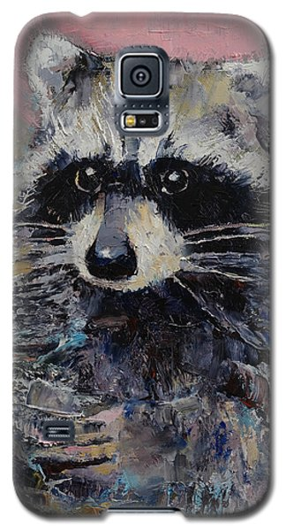 Raccoon Galaxy S5 Case by Michael Creese