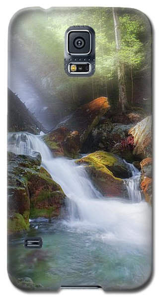 Galaxy S5 Case featuring the photograph Race Brook Falls 2017 by Bill Wakeley