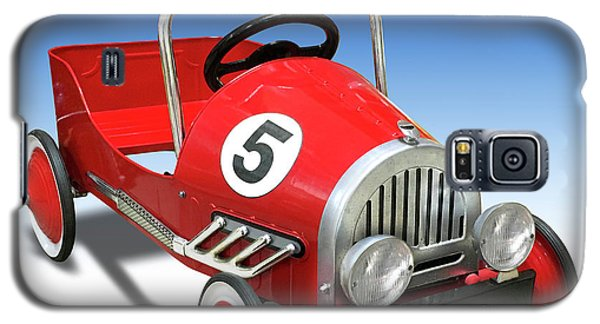 Galaxy S5 Case featuring the photograph Race Car Peddle Car by Mike McGlothlen