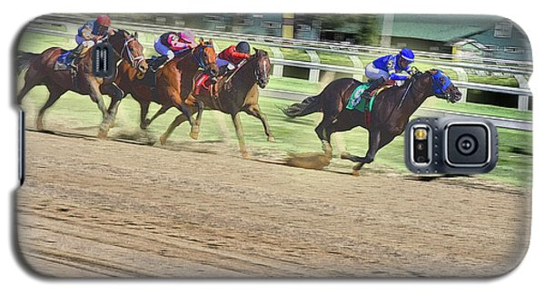 Race Horses In Motion Galaxy S5 Case