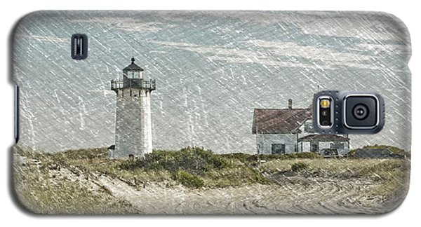 Galaxy S5 Case featuring the photograph Race Point Lighthouse by Paul Miller