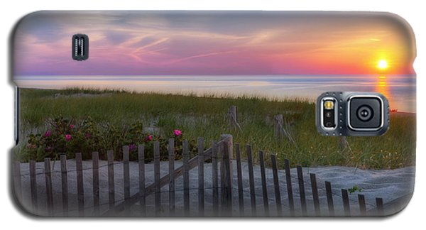 Galaxy S5 Case featuring the photograph Race Point Sunset 2015 by Bill Wakeley