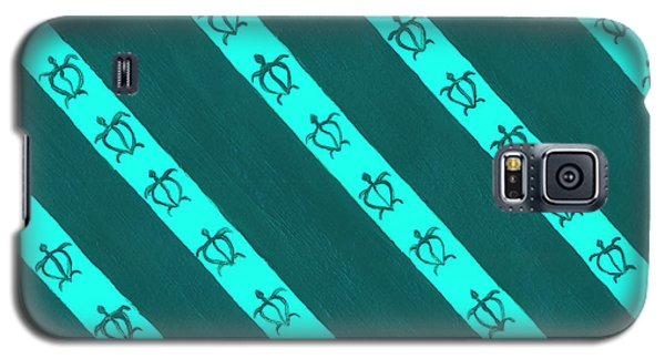 Galaxy S5 Case featuring the painting Race To The Sea 3 by Darice Machel McGuire