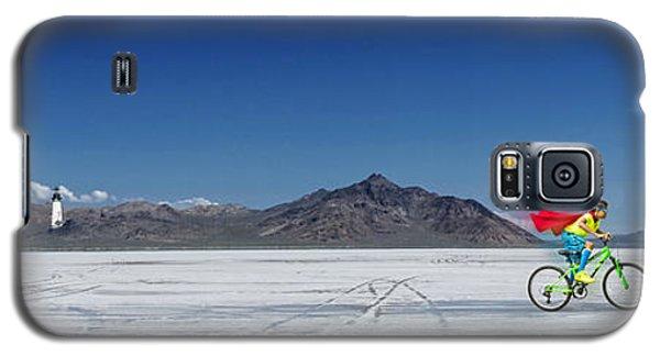 Racing On The Bonneville Salt Flats Galaxy S5 Case