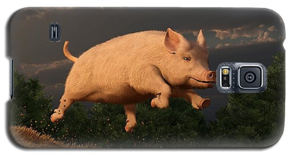 Racing Pig Galaxy S5 Case
