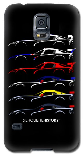 Racing Snake Silhouettehistory Galaxy S5 Case