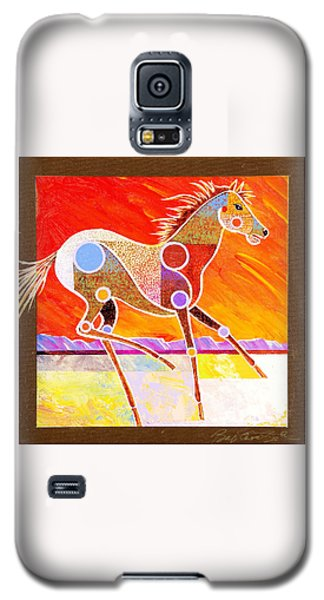 Racing The Desert Galaxy S5 Case by Bob Coonts