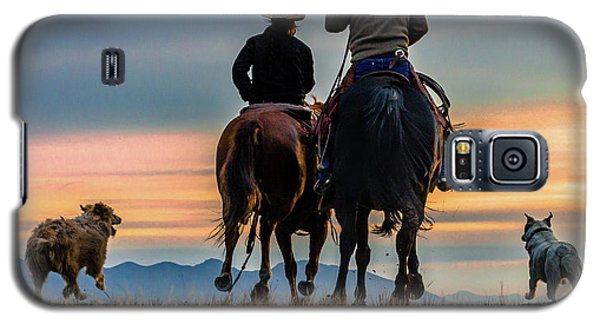 Racing To The Sun Wild West Photography Art By Kaylyn Franks Galaxy S5 Case