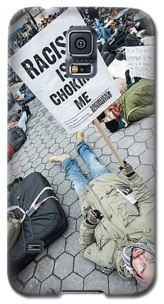 Racism Is Choking Me Galaxy S5 Case