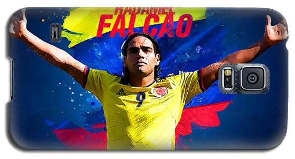 Radamel Falcao Galaxy S5 Case by Semih Yurdabak