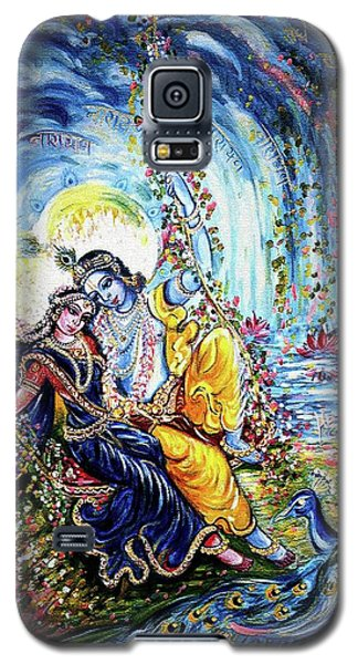 Radha Krishna Jhoola Leela Galaxy S5 Case