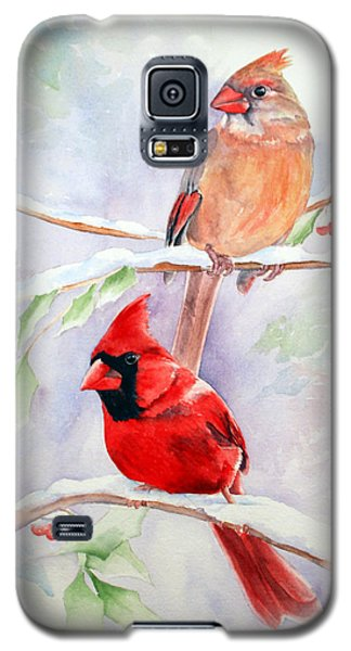 Radiance Of Cardinals Galaxy S5 Case