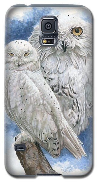 Galaxy S5 Case featuring the mixed media Radiant by Barbara Keith