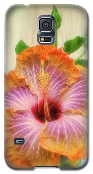 Radiant Hibiscus Galaxy S5 Case