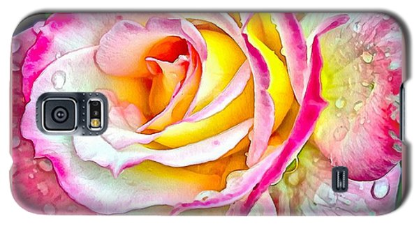 Radiant Rose Of Peace Galaxy S5 Case