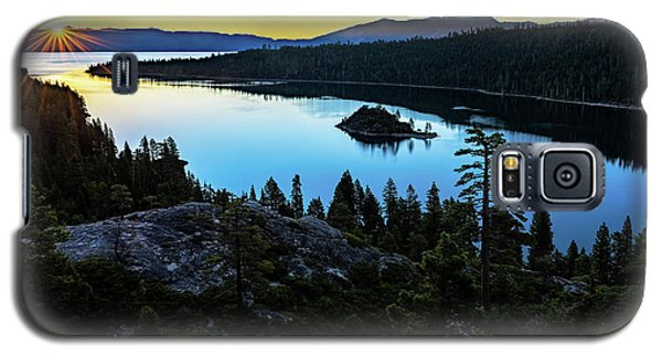 Radiant Sunrise On Emerald Bay Galaxy S5 Case
