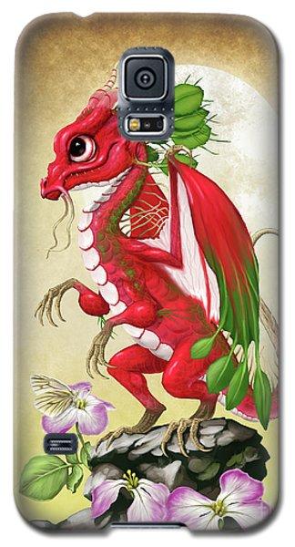Galaxy S5 Case featuring the digital art Radish Dragon by Stanley Morrison