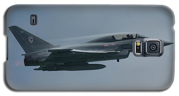 Galaxy S5 Case featuring the photograph Raf Eurofighter Typhoon T1  by Tim Beach